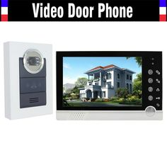 """94.99$  Buy here - http://alicgp.worldwells.pw/go.php?t=32496525670 - """"Wholesale 700TVL Rainproof Camera 7"""""""" TFT Color Wired Video Door Phone Intercom Doorbell Support Night Vision for apartment Villa"""""""