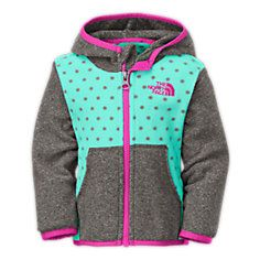 The North Face Glacier Full Zip Hoodie - Infant - Kid's Little Girl Fashion, My Little Girl, My Baby Girl, Baby Love, Kids Fashion, Toddler Girls Fashion, Toddler Outfits, Kids Outfits, Full Zip Hoodie