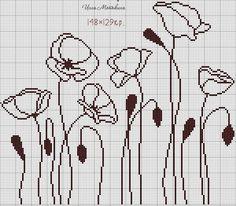 View album on Yandex. Cross Stitch Borders, Cross Stitch Flowers, Cross Stitch Designs, Cross Stitching, Cross Stitch Embroidery, Embroidery Patterns, Cross Stitch Patterns, Filet Crochet Charts, Afghan Crochet Patterns