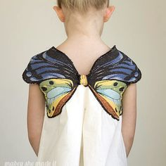"""""""Tunic+butterfly=a simple, classic stunner your girls would adore. Saige dances…"""