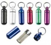 Classic bison tube geocaching micro container on the cheap, less than $1 each when you buy six.