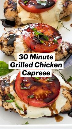Grilling Recipes, Cooking Recipes, Healthy Recipes, Diner Recipes, Food Dishes, Main Dishes, Grilled Chicken, So Little Time, Yummy Food