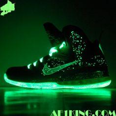 Custom Kicks: Nike Lebron 9   SpaceMans