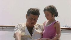 """Father and daughter >>                          """"Children,"""" President Kennedy said, """"are the world's most valuable resource and its best hope for the future."""""""