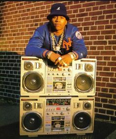 Old School Hip Hop Boomer LL Cool J Cause You Know I Can't Live Without My Radio!
