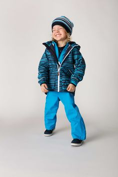 Guava jacket, Timmi pants and Wetter shoes. #reimakid