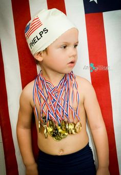 How to Make an Olympic Swimmer Costume | Michael phelps, Halloween ...