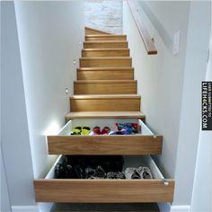 Hide By-the-Door Clutter - #HomeImprovement