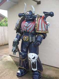Nightlord Chaos Space Marine costume!