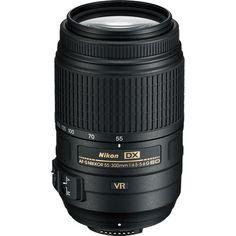 Nikon AF-S 55-300mm f/4.5-5.6G ED VR Zoom Lens Nikkor lenses for Nikon D3000 D3100 D3200 D60 D5000 D5100 D90 D7000 Dslr cameras $322.95