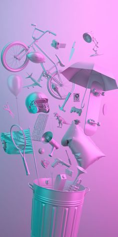 a pastel night Whats Wallpaper, Iphone Wallpaper, Purple Wallpaper, Vaporwave, Web Design, Graphic Design, 3d Artwork, 3d Prints, 3d Projects