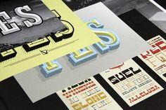Slanted Magazine #20 – Slab Serif on Behance
