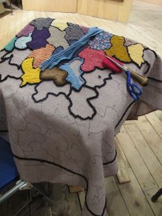 Green Mountain Rug Hooking Guild Show 2011 - 05 | Flickr - Photo Sharing!