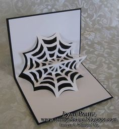 Pop Up Halloween Card by lpratt - Cards and Paper Crafts at Splitcoaststampers