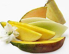 Mangotini … La mangue juteuse s'unit à la fraîcheur du melon relevé d'un trait d'ananas dans cette fragrance inspirée d'une sieste sous les cocotiers.