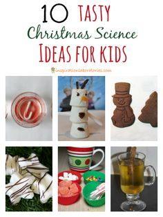 10 Tasty Christmas Science Ideas - Make some memories and add a little science into your day with these tasty Christmas science ideas.