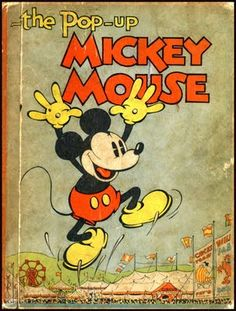 Mickey Mouse -The Pop Up vintage book