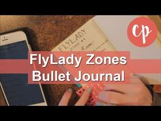 FlyLady Zones in my Bullet Journal {Chic Sparrow} - YouTube