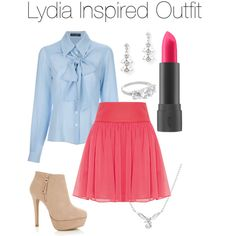 Teen Wolf - Lydia Inspired Outfit