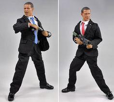 Obama action figures