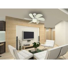 Westinghouse Turbo Swirl 30 in. White Ceiling Fan-7814565 at The Home Depot