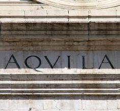 L'Aquila, Abruzzo, Italia.