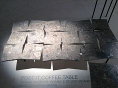 Post it coffee table