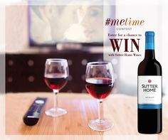 Put on your favorite romantic comedy and pour some Sutter Home Merlot for a #MeTime movie night. And don't forget, it's not too late to enter our contest for a chance to win a $100 Visa Gift Card: http://www.sutterhome.com/metime