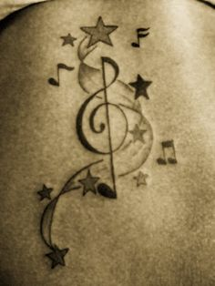 Music-note-tattoos-for-designs Photo: This Photo was uploaded by atownzsupastar. Find other Music-note-tattoos-for-designs pictures and photos or upload. Music Tattoo Designs, Music Tattoos, Star Tattoos, New Tattoos, Body Art Tattoos, Tatoos, Autism Tattoos, Tattoo Art, Girl Tattoos