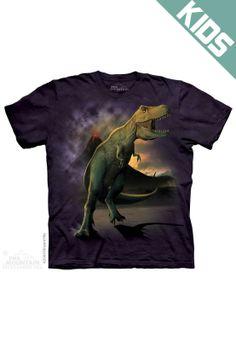 Dinogear Dinorama Childrens Backpack Velociraptor School Bag Size Large