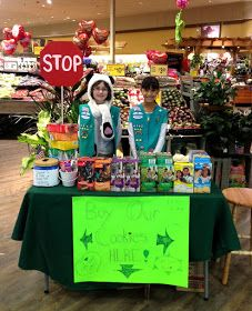 Girl Scout Cookie Booth Ideas