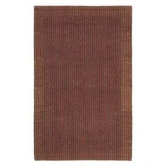 Sisal and seagrass rug.  Product: RugConstruction Material: Sisal and seagrassColor: Brown and rustFeatures:  Power-loomedMade in India Note: Please be aware that actual colors may vary from those shown on your screen. Accent rugs may also not show the entire pattern that the corresponding area rugs have.Cleaning and Care: Professional cleaning recommended