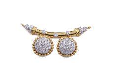 Diamond Mangalsutra, Gold Mangalsutra Designs, Antic Jewellery, Best Jewellery Design, Locket Design, Gold Necklace Simple, Indian Jewelry, Beaded Jewelry, Lahenga