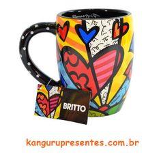 Caneca Romero Britto A New Day!  #KanguruPresentes #anewday #RomeroBritto