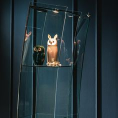 Perfection!!  [[Crystal display cabinet OPEN WIND by Cattelan Italia design Vetrina 28]
