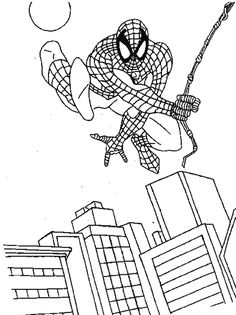 kids under 7 spider man coloring pages spiderman coloring batman coloring pages