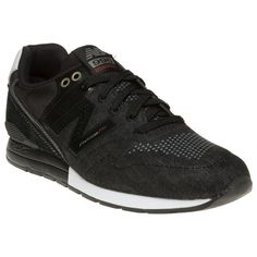 New Balance. Just dropped is this excellent iteration of the successful men's 996 runner from New Balance. In all black this mono style oozes classy old-skool style. Lace-type: Lace Up. Main Upper Material: Textile. | eBay!