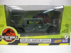 Amazon.com: Jurassic Park The Lost World Hum-Vee Hunter Vehicle: Toys & Games