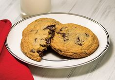 Valentine's Day Chocolate Chunk Cookies