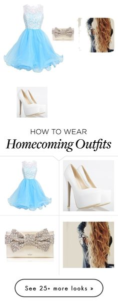 """""""HOMECOMING"""" by aye-its-angie on Polyvore featuring Kate Spade"""
