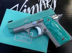 Tiffany's Kimber Surveillance Equipment, Gun Storage, Hand Guns, Fire, Knives, Pretty, Firearms, Weapon Storage, Pistols