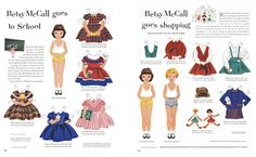 Printable paper dolls | How About Orange