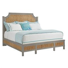<strong>Coastal Living™ by Stanley Furniture</strong> Resort Water Meadow Woven Bed
