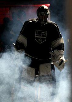 Jonathan Quick of the Los Angeles Kings