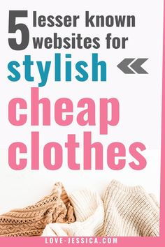 Shopping for clothes can be expensive, BUT, cheap trendy womens clothing does exist! Take a look at these 5 legit online clothing stores to find stylish womens clothes at great prices! Trendy Clothing Stores, Clothing Sites, Trendy Clothes For Women, Online Clothing Stores, Cheap Clothing Websites, Clothing Hacks, List Of Websites, Shopping Websites, Shopping Hacks