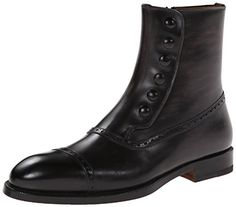 Magnanni Men's Velez Chelsea Boot,Grey,11 M US