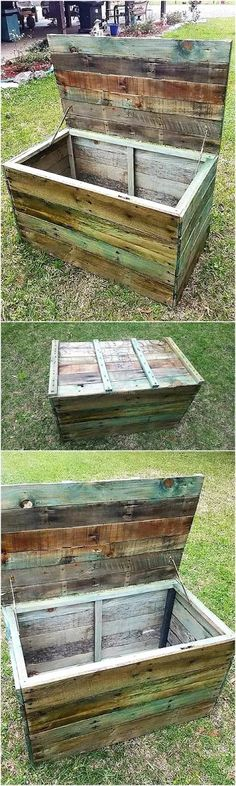 Easy to make ideas for wooden pallet furniture - Pallet Projects Garden Wooden Pallet Crafts, Wooden Pallet Furniture, Diy Pallet Projects, Wooden Pallets, Handmade Furniture, Pallet Ideas, Furniture Ideas, Wood Ideas, Pallet Wood
