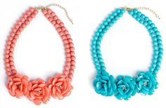 The Bella Rose Bib Necklace 76% off at Groopdealz