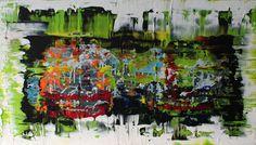 acrylic painting v. 100 cm x 80 cm  No.321