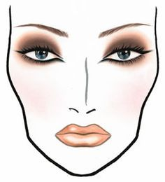 face charts | these seasons past m a c face charts for guidance